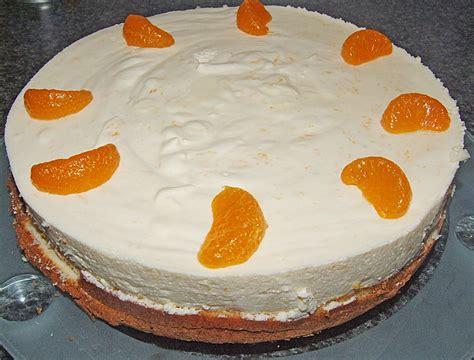 torte kuchen mandarinen philadelphia torte kuchen rezepte zum kochen