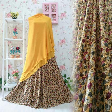 Gamis Nayaka Syari baju gamis syar i b133 motif daun busana muslim modern