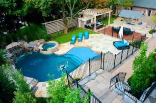 Cheap Backyard Pool Ideas A Backyard Pool Oasis Traditional Pool Toronto By