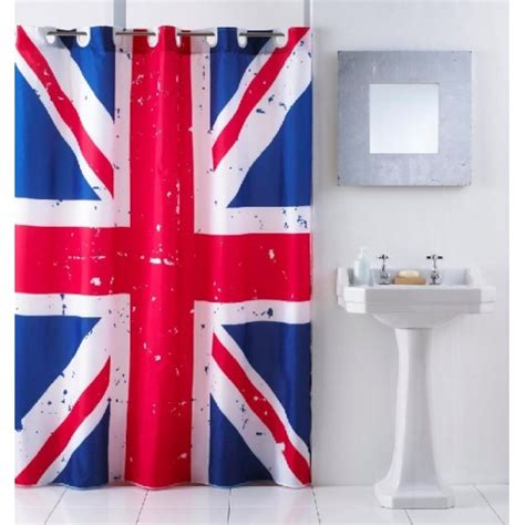 union jack shower curtain union jack without hook shower curtain for bath tub brand