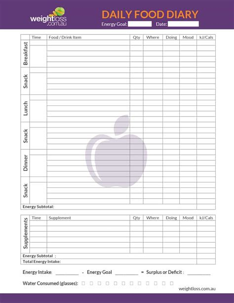 goal journal template madrat co