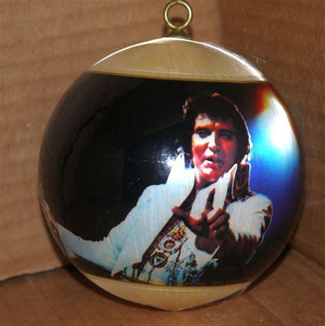 retro market swingin christmas ball vintage elvis presley christmas tree ball ornament w color
