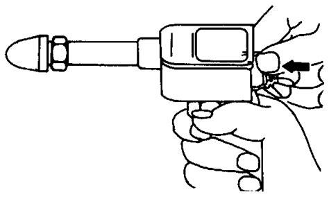 Alat Tes Kompresi test tekanan kompresi silinder mesin teknik kendaraan ringan