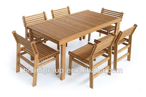 Dining Table Chairs Set Wholesale Bamboo Furniture Outdoor Bamboo Dining Square Table Set Bf10 W21 Buy Bamboo Garden