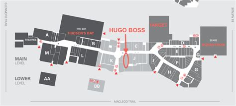 layout of chinook mall hugo boss to open at calgary s chinook centre