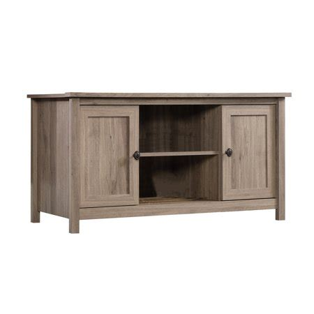 sauder furniture county  salt oak adjustable tv entertainment stand  walmartcom