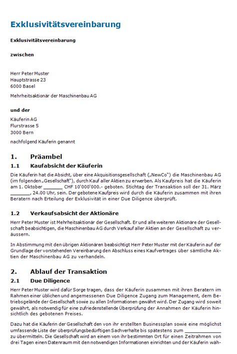 Muster Datenschutzerklärung Schweiz Exklusivit 228 Tsvereinbarung Muster Zum
