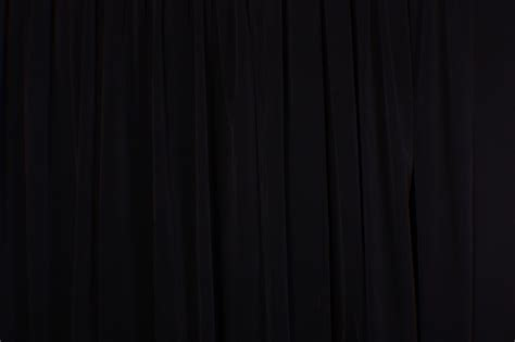 Black Backdrop Curtains High Ceiling Theater Backdrop Drapes Solid Black Velvet 11 Ft Curtain Panel Ebay