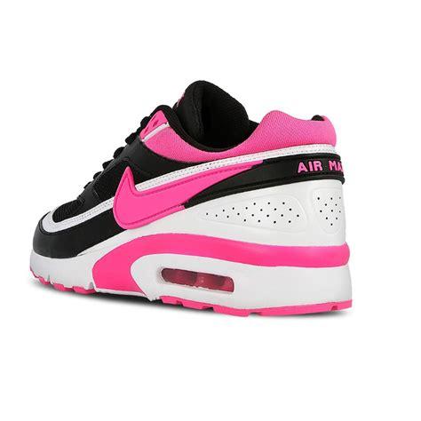 black pink and white nike running shoes nike air max bw gs big 834224 006 black pink