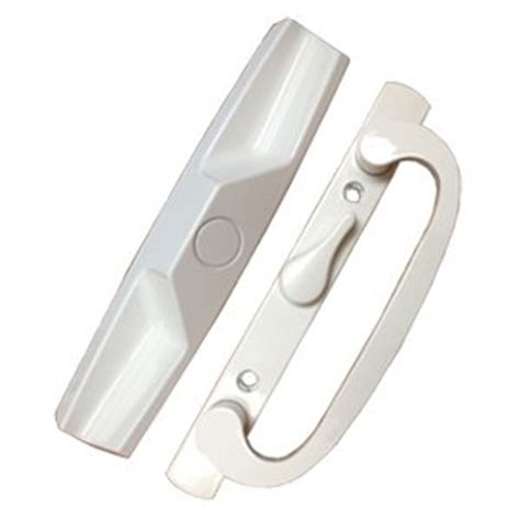 Patio Door Hardware Replacement Patio Door Handle Set White Replacement Pd1400white Center Patio Door Handle With Lock