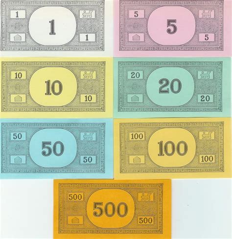 printable monopoly money template aftermath 2022 monopoly money series one