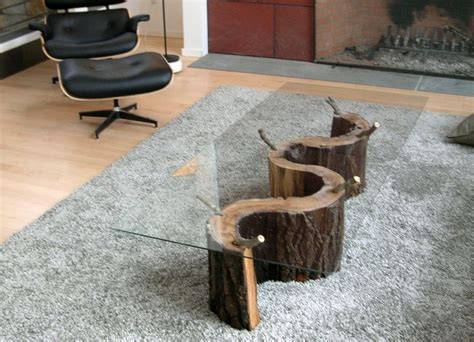 tree trunk glass coffee table 25 best ideas about tree trunk coffee table on