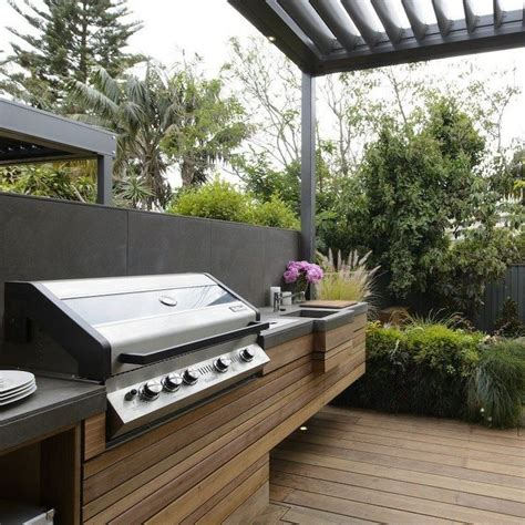 Outdoor Bbq Kitchen Designs 25 Best Ideas About Built In Bbq On Outdoor Grill Area Built In Bbq Grill And