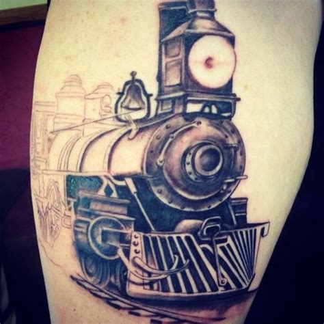 steam train tattoo designs progress of steam on tom by lenny