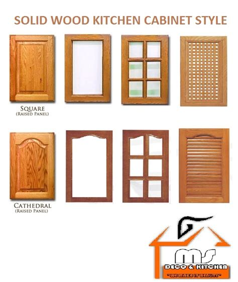 msdeco kitchen material for kitchen cabinet doors