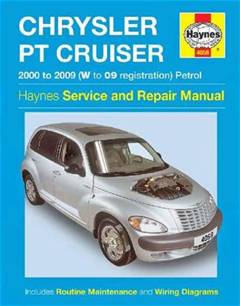 car repair manuals download 2006 chrysler pt cruiser interior lighting chrysler pt cruiser petrol 2000 2009 haynes owners service repair manual 1844258920