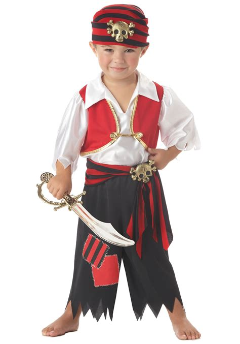 toddler boy costumes toddler ahoy matey pirate costume