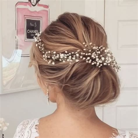 best 20 simple wedding updo ideas on easy wedding updo bridesmaid hair up and