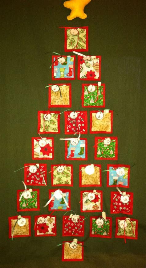 Handmade Fabric Advent Calendar - fabric advent calendar calendar template 2016
