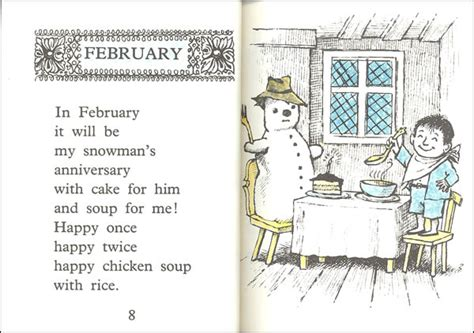 libro chicken soup with rice chicken soup with rice a book of months 025432 details rainbow resource center inc