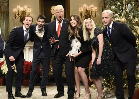 snl show johansson wows the crowd as she returns as ivanka
