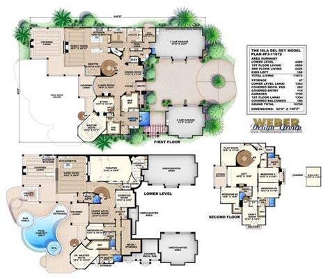 tuscan style floor plans isle del rey floor plan monster house plans by weber