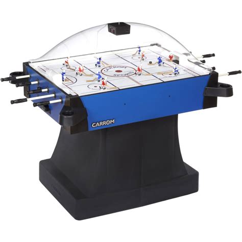 table hockey carrom signature stick rod hockey table w pedestal table hockey shop