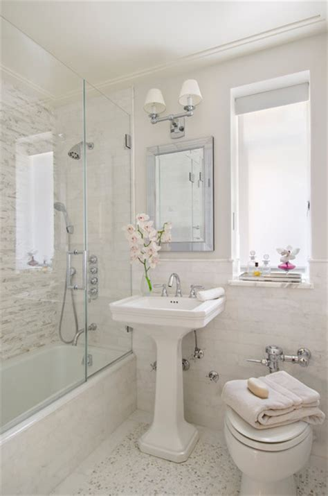 Modern Traditional Bathrooms by Modern Traditional Traditional Bathroom Miami By