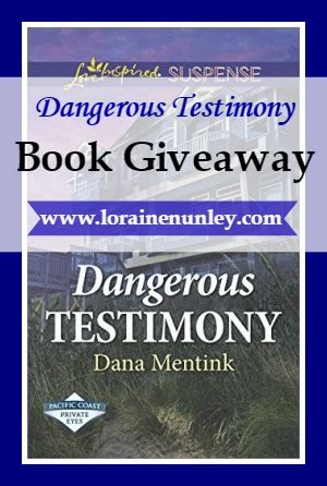 deadly testimony a safeguard novel books book giveaway dangerous testimony by mentink