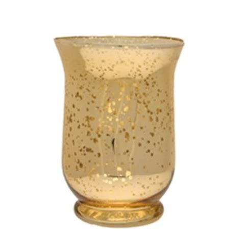Wholesale Hurricane Vases by 25cm Chagne Gold Distressed Hurricane Vase