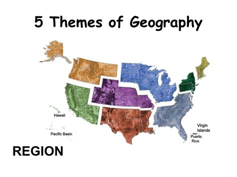 5 themes of geography ppt themes of geography region 5 themes of geography ppt