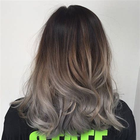 silver brown hair grey hair ombre hair pinterest protective styles