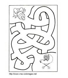labirint colouring pages 2