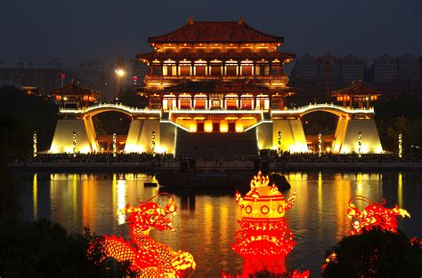 days central plains water town  china tours