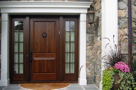 Windows Next To Front Door Splashy Sidelight Curtains In Traditional Boston With Molding Around Door Next To Front Door