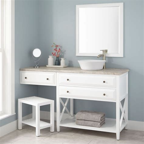 sink with makeup vanity 25 best ideas about vessel sink vanity on