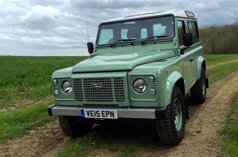 green land rover defender new land rover defender is quot not far away quot says design