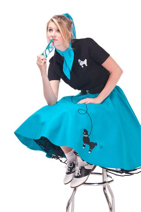 diy bobby socks 3x 4x plus size teal 50 s poodle skirt by