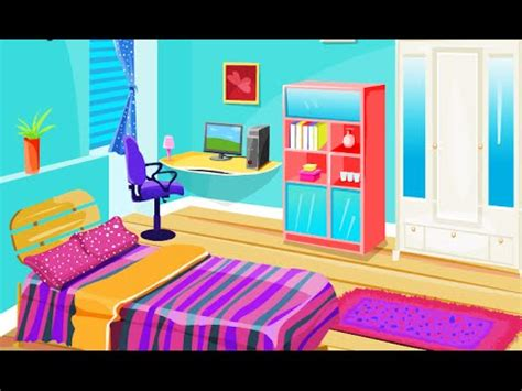 colorful room decoration fun  decoration design games  girls kids youtube