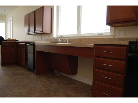 Handicap Accessible Kitchen Cabinets Kitchens Phillippe Builders