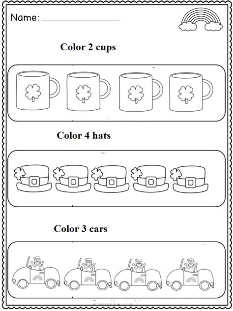 kindergarten activities st patrick s day crafts actvities and worksheets for preschool toddler and