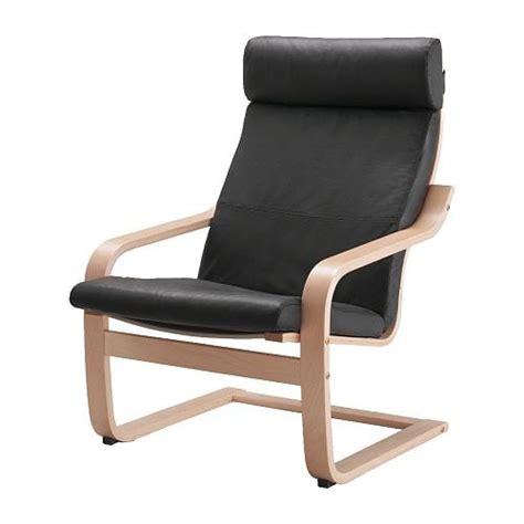Ikea Poang Chairs - po 196 ng chair glose black ikea