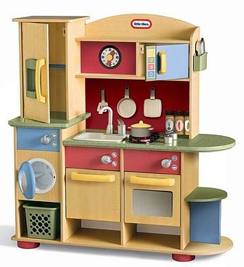 Cookin Kitchen by Tikes Kitchen Playset Wallpaper