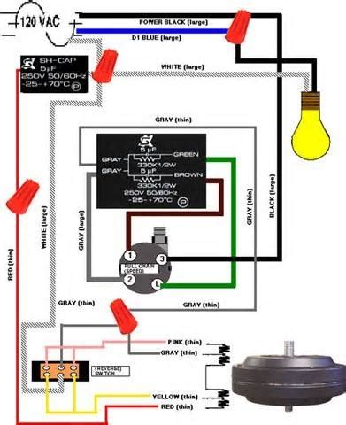ceiling fan pull chain light switch wiring diagram fuse