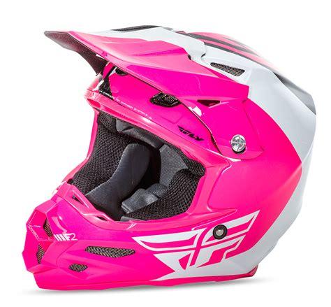 pink motocross helmet f2 carbon pure pink white black helmet fly racing