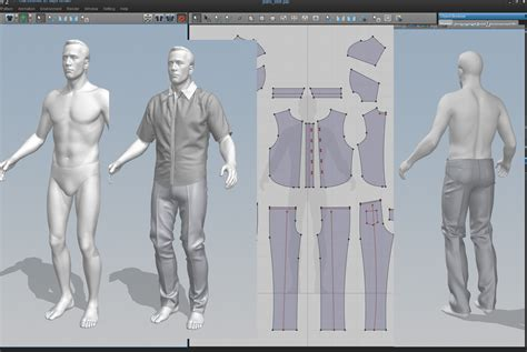 jeans pattern making software marvelous designer right between cutting fabric and 3d