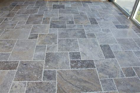 kesir travertine tile antique pattern sets silver