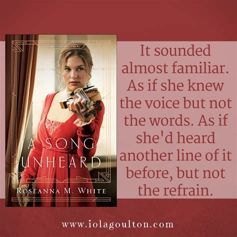 a song unheard shadows books book review a song unheard by roseanna m white