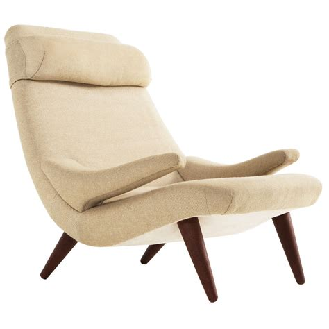 modern danish wingback chair 1960s at 1stdibs modern danish wingback chair 1960s at 1stdibs