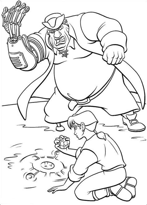 Coloring Page Treasure Planet Coloring Pages 11 Treasure Planet Coloring Pages